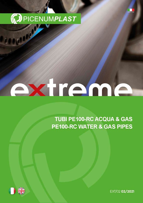 TUBI IN POLIETILENE NORMOPIPE EXTREME 100 RC