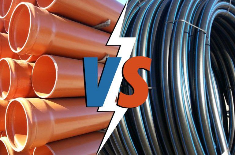 tubo arancio e tubo nero
